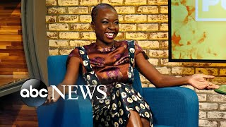'Black Panther' star Danai Gurira sings a hymn in her native Zimbabwean language Shona