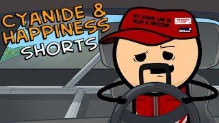 Racecars - Cyanide & Happiness Shorts