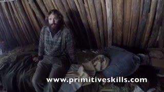 Earth Lodge Winter Survival Shelter Challenge