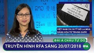 Tin tức: Việt Nam chi 30 tỷ đô la mua hàng hóa từ Trung Quốc trong 6 tháng
