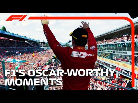 F1's Most Oscar-Worthy Moments!