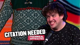 The Sweater Curse and Clothing Controversies: Citation Needed 8x06