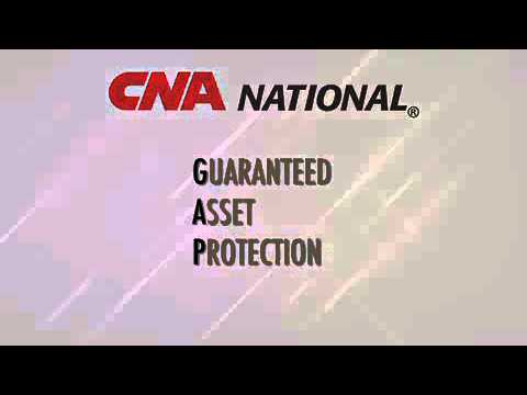 Product Showcase Web Series - 3 Guaranteed Asset Protection Explained by CNA NATIONAL