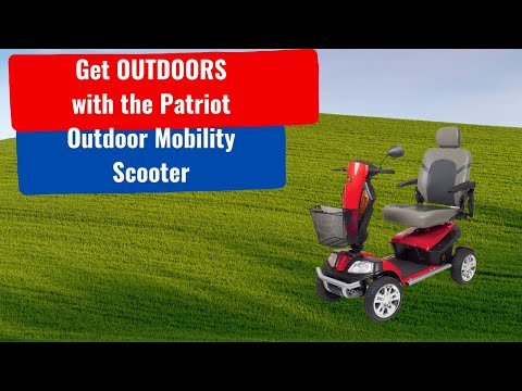 Golden Technologies Patriot Outdoor Mobility Scooter