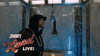 "EXCLUSIVE - Eminem Performs ""Venom"" from the Empire State Building! Presented by Google Pixel 3"