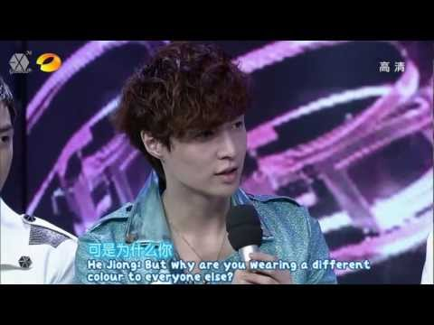 [HD/CUT/ENG] 120721 EXO Happy Camp 15th Anniversary Celebration 快乐大本营15周年