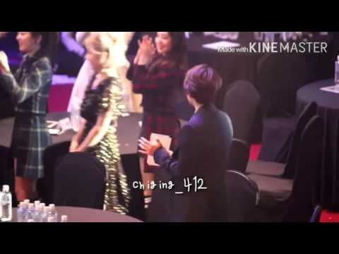 [160217] BAEKYEON moment at 5th Gaon Chart Award 2016