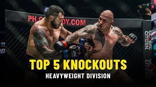 Top 5 Heavyweight Knockouts | ONE Highlights