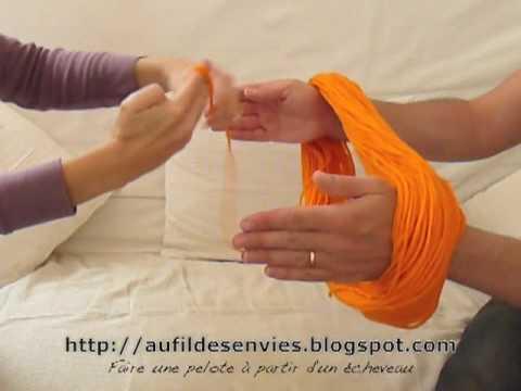 comment tricoter un echeveau