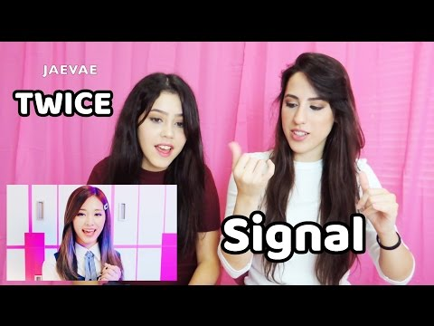 TWICE - SIGNAL MV Reaction [ENG SUB]