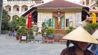 Tôn Đản, Tôn Thất Thuyết, Nhà thờ Xóm Chiếu,Sài Gòn, trưa Mùng 7 Tết