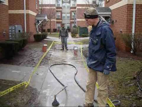 University of Buffalo: A-1 Goes Back to School to Teach Sunken Concrete a Lesson!