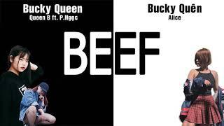 Battle : Bucky Queen - Queen B ft P.Ngọc & Bucky Quên Alice