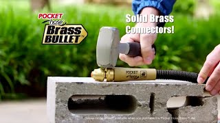 Is 'Brass Bullet' Garden Hose as Strong as Commercials Suggest?