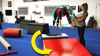 EXTREME GYMNASTICS OBSTACLE COURSE!