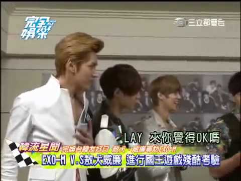 120921 EXO-M- [Eng Sub] Wan Quan Yu Le [Total Entertainment] 完全娱乐