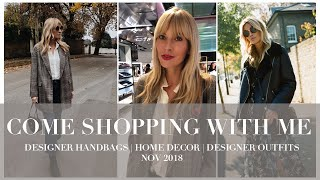 Come shopping with me | Designer handbags, Outfits Ideas & Home Decor