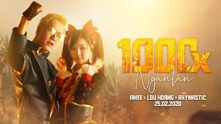 AMEE x LOU HOÀNG x RHYMASTIC - 1000x (NGÀN LẦN) #FreeFire | Official MV