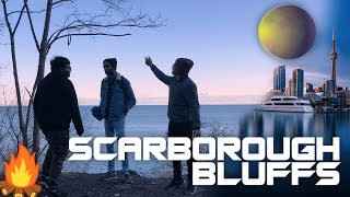 Exploring The Scarborough Bluffs After The Solar Eclipse In Toronto