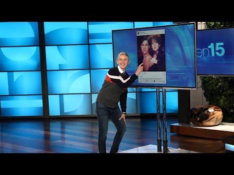 Ellen Finds an Audience Member's Embarrassing Glamour Shot