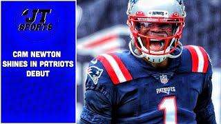 Cam Newton Shines In New England Patriots Debut | NFL