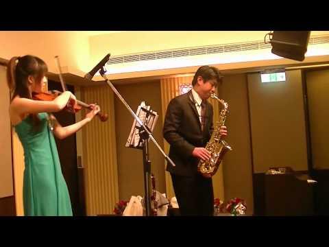 Isabella音樂藝術樂團--經典西洋情歌 sax老師演奏