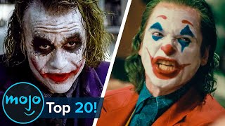 Top 20 Greatest Joker Moments Ever