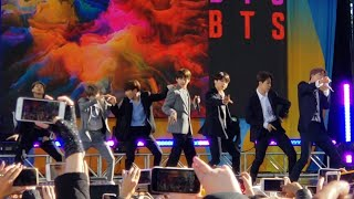 190515 Boy With Luv @ BTS 방탄소년단 Good Morning America GMA Summer Concert Series 2019 New York City