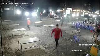 Ăn tất niên bị GIANG HỒ tấn công trong quán nhậu ở KDC Việt Sinh - Bình Dương 24H