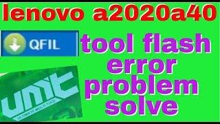 Flashing Lenovo A2020a40 / VIBE C  Via QFIL 9008 Methode - Aji fahri