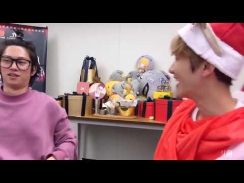 ENG SUB//CC (161223) SM Super Celeb League  Baekhyun & Heechul Punishment