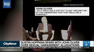 John Oliver confronts Dustin Hoffman over harassment allegations