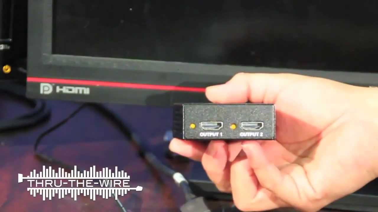 Use Two Monitors As One Displayport To Hdmi 1x2 Splitter