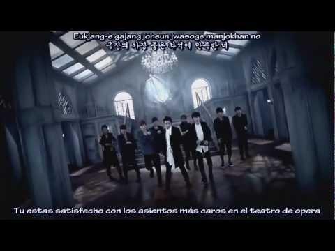 Super Junior - Opera  (Sub. Español - Hangul - Romanización)