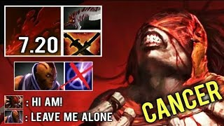OMFG NEW CANCER Thirst +300 Attack Speed Brutal Bash vs AM Most Crazy Gameplay RANK 7.20 Bs — Dota 2