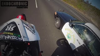 Wheelie Around Highway Patrol! Stunting Taunting Police Chase