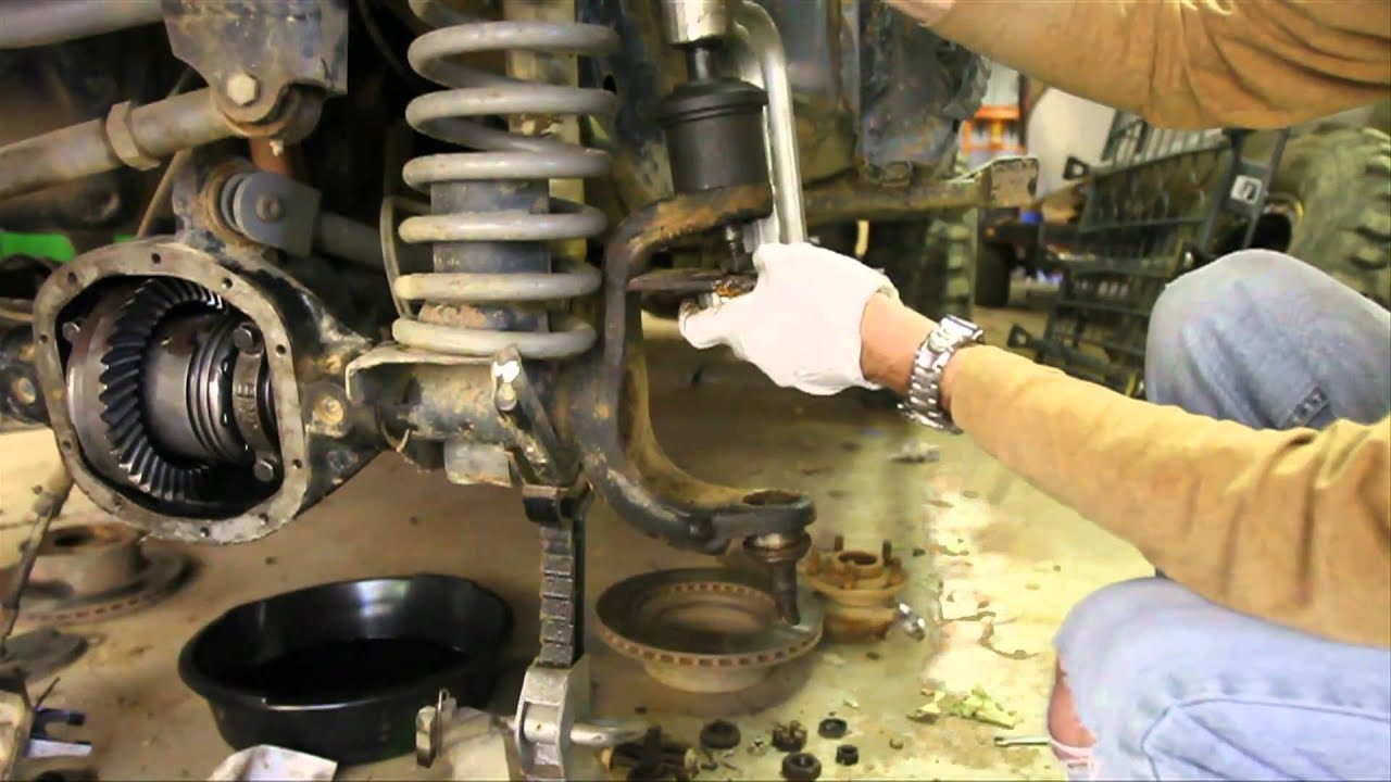 How To Replace Dana 30 And 44 Ball Joints Part 1 Of 3
