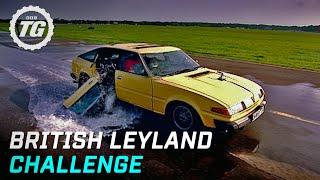 British Leyland Challenge Highlights | Top Gear | BBC