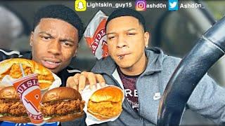 Popeyes Chicken Sandwich MUKBANG + Hotbox Session 🍃 Hilarious 😂