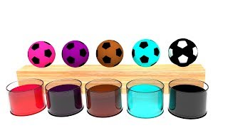 Learn Colors with Balls  Kids Video Video for Kids Learn Colors Nursery Rhymes and Learning