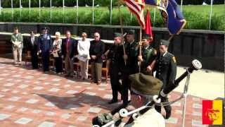 '2012 Memorial Day observance at Pittsburg State University's Veterans Memorial