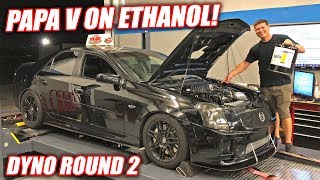 Dynoing Cooper's CTS-V on E85