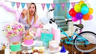 ALISHA MARIE'S BIRTHDAY VLOG!! OPENING PRESENTS!!