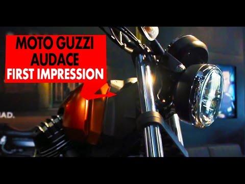 Moto Guzzi Audace : First Impressions : PowerDrift