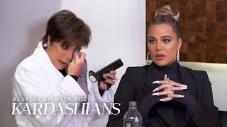 Kris Jenner & Kourtney Kardashian Cry Over Last Season's Fight | KUWTK | E!