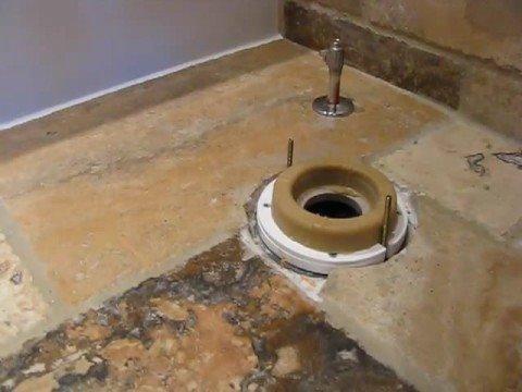 Images Of Tile Floor Around Toilet