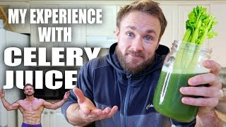 CELERY JUICE FOR 30 DAYS & WHY I SUDDENLY STOPPED