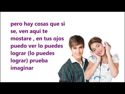podemos -violetta y leon (video lyric)