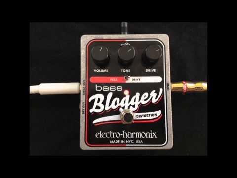 Bass Overdrive Wars Episode 1: Electro-Harmonix Bass Blogger Distortion