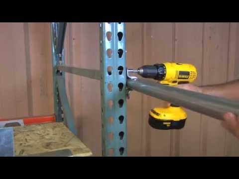 Ladder Industries JiffyRail Mezzanine Platform Guard Rail Installation